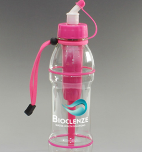 20 oz Sports Bottle Advanced Filter in Pink & Blue