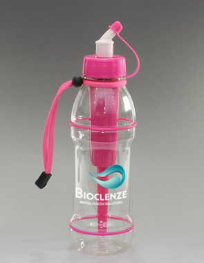 20 oz Sports Bottle Extreme Filter in Pink & Blue
